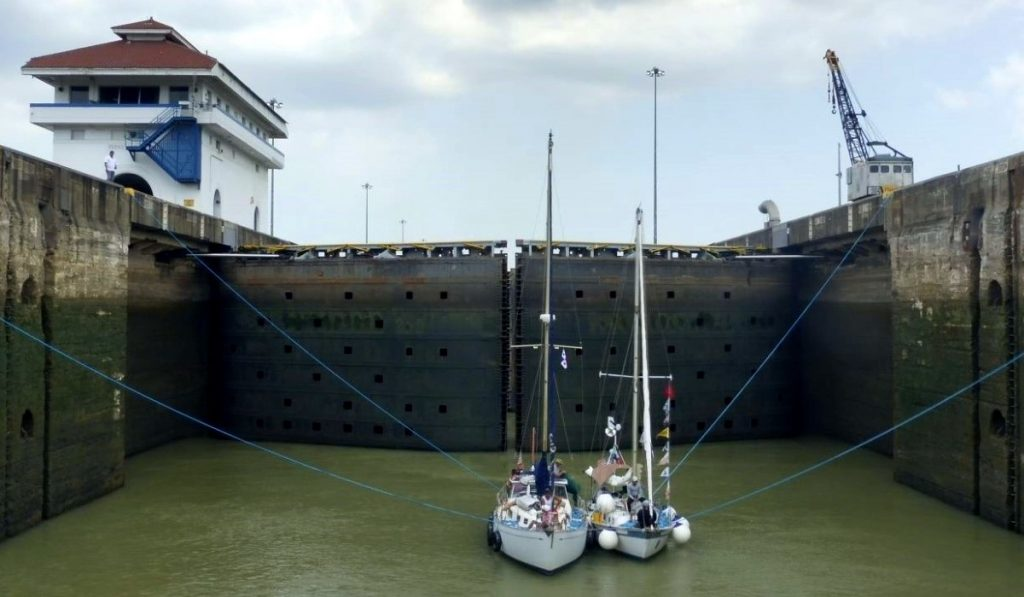 Short and Perfect Holiday in Panama Canal Transit