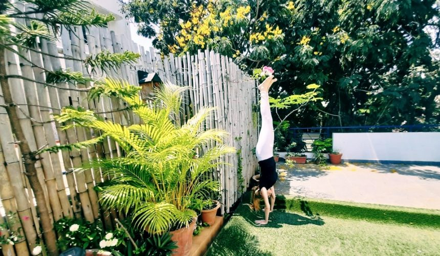 Balanced Lifestyle Yoga Handstand