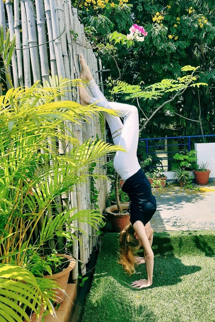 Balanced Lifestyle Handstand Supported