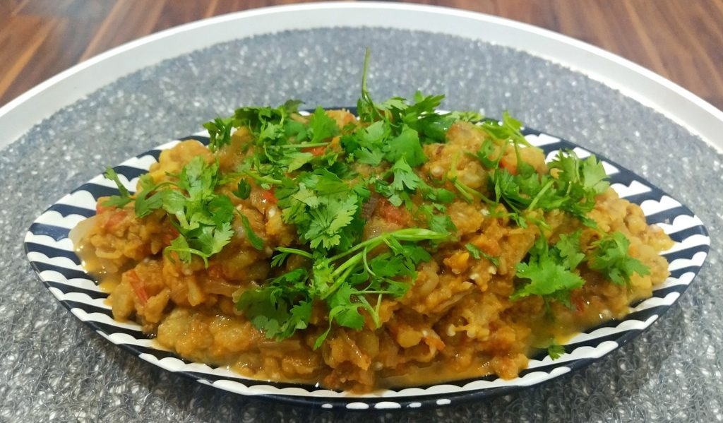 Secrets of Indian Cuisine Baingan Bharta
