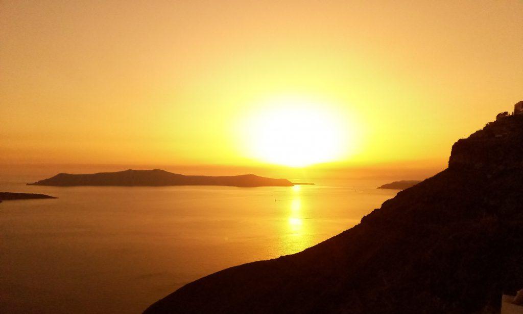Santorini Sunset in Thira